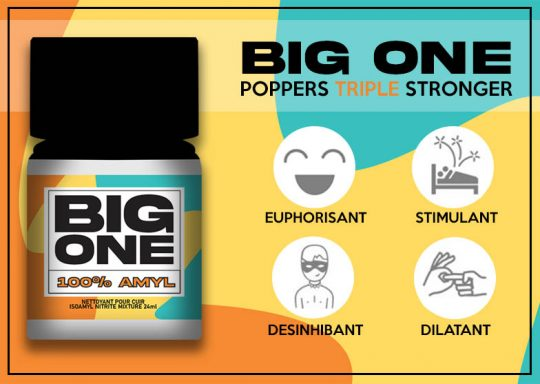 poppers puissant big one